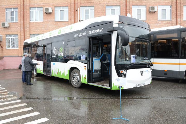 Новый российский электробус заряжается всего за 15 минут